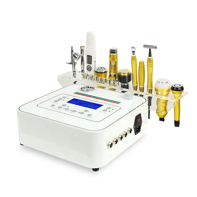 10 In 1 Micro Dermabrasion Multifunction Skin Rejuvenation Skin Care Beauty Facial Machine