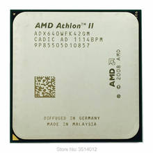 Amd Athlon Ii X4 640 3.0 Ghz Quad-Core Cpu Processor ADX640WFK42GM Socket AM3(China)