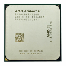 Processador amd athlon ii x4 640, cpu quad-core com 3.0 ghz, soquete am3