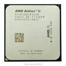 Amd athlon ii X4 640 3.0 GHz Quad Core procesor cpu ADX640WFK42GM gniazdo AM3