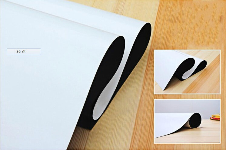 Magnetic Whiteboard A3 Size 297x420mm Fridge Magnets Presentation Boards Home Kitchen Message Boards Writing Sticker in Whiteboard from Office School Supplies