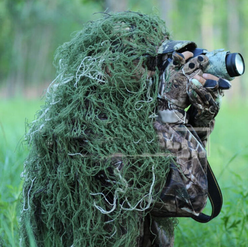 Hot Sale 3d Woodland Hunting Head Cover Camouflage Net