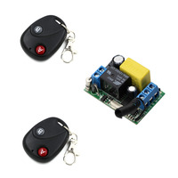 433Mhz AC 220V Wireless Remote Control Switch Radio Control Switch Remote Power ON OFF 1CH 10A