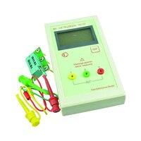 Yiwa TR LCR ESR Tester Transistor Inductance Capacitance Resistance ESR Meter without Battery White