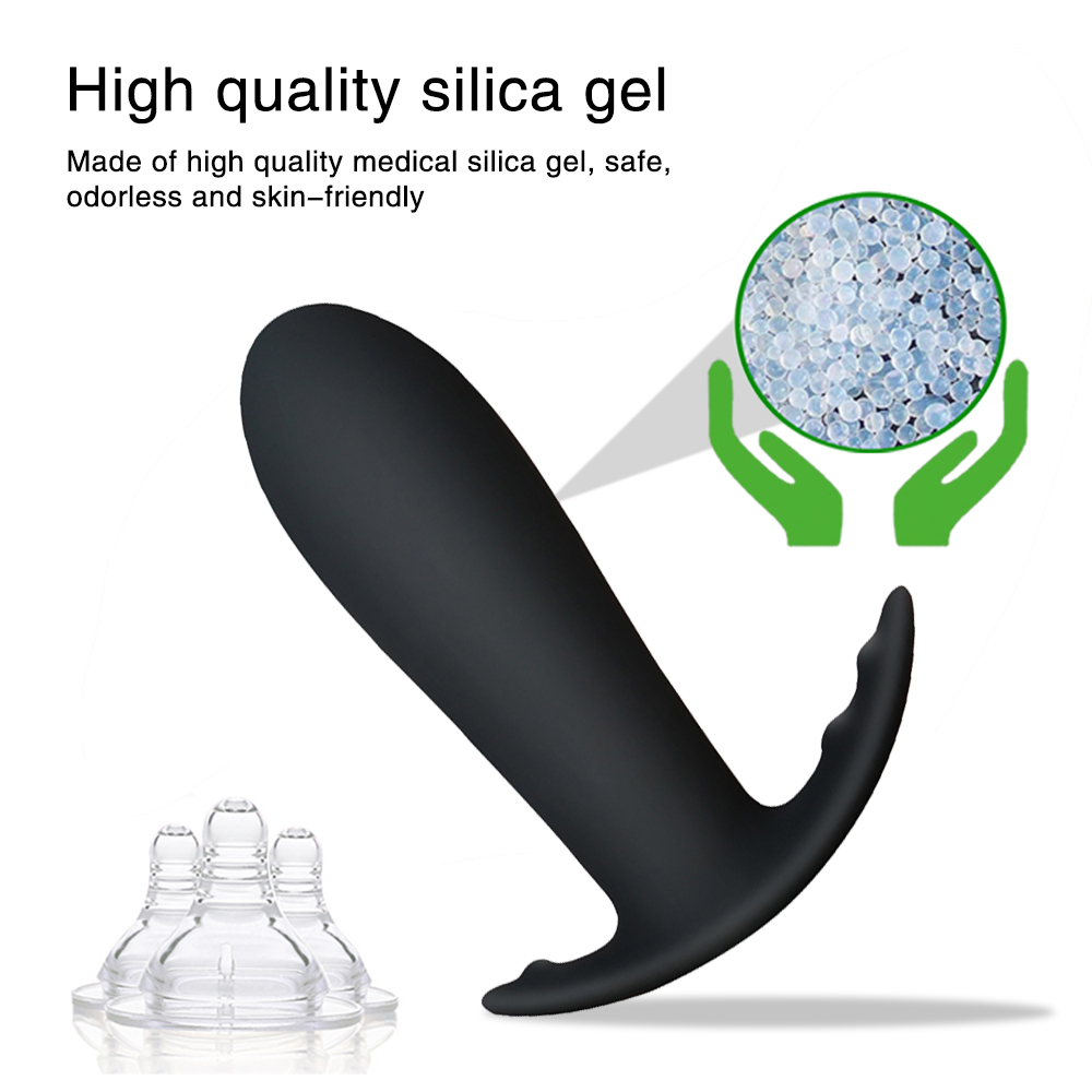 Vibrating Anal Butt Plug Adult Sex Toy For Men Prostate Massage Medical Silicone Anal Dildo Vibrator For Women Vagina Stimulator (11)