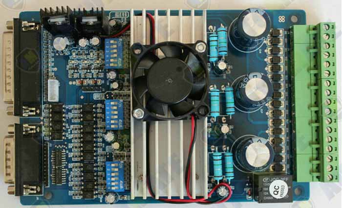 Official DOIT TB6560 3 axis cnc controller tb6560 stepper motor driver mach3 cnc controller D001B motor driver cnc tb6560 4 axis stepper controller board for engraving machine