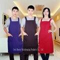 Fábrica de la Venta Directa Peluquería Delantal de Trabajo Para La Tienda De Salón, Peluquería Delantal En 3 Colores Lisos, adultos Pelo Wrap YP-9