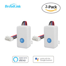 2PCS Broadlink SC1 Home Automation Modules Smart Switch WiFi APP 2.4GHz Control Box Timing Wireless Remote 2500W