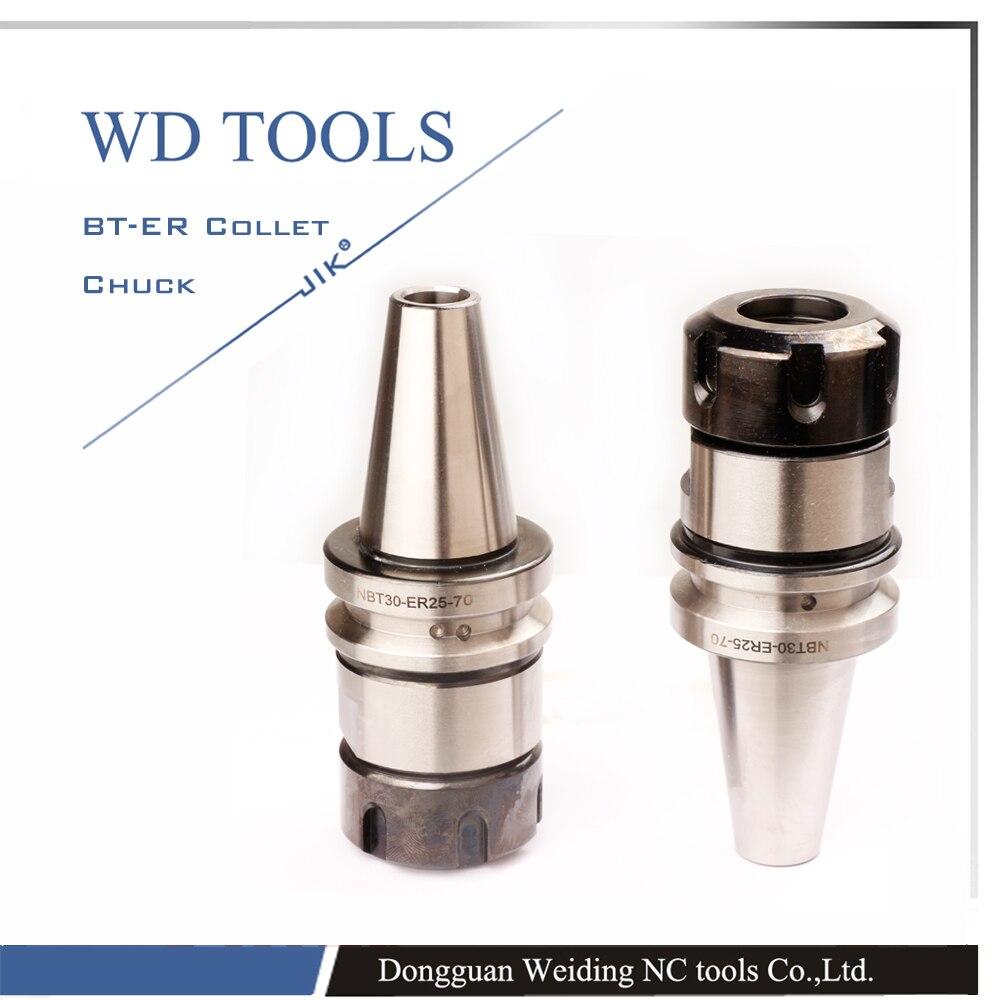 ISO standard NBT30 ER16 100mm Spring Collet Chuck CNC Milling Toolholder without keyless ER tool holder for sale
