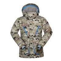 GSOU SNOW Men's Ski Suit Winter Outdoor Wear resistant Windproof Waterproofing Ski Jacket Snow Wear For Men Size S XL