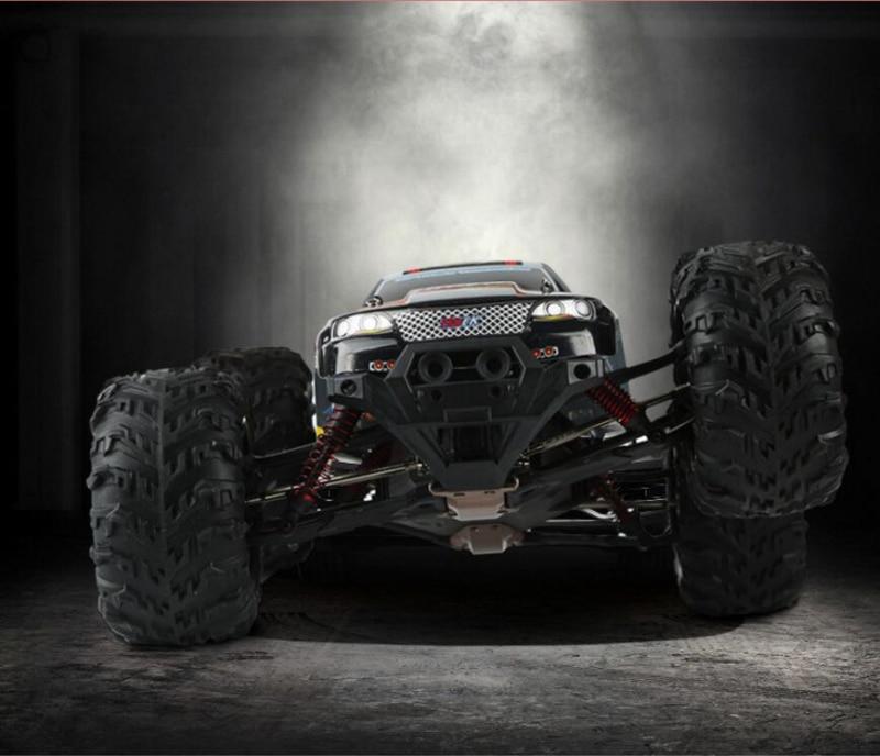 Гоночный автомобиль с дистанционным управлением, 50 км/ч, 2,4G, 1/10 высокая скорость, внедорожный грузовик, четырехколесный привод Monster RC, модель