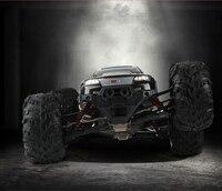 50 км/ч/ч гоночный пульт дистанционного управления автомобиль 2,4 г 1/10 высокая скорость внедорожный грузовик четырехколесный привод Монстр RC