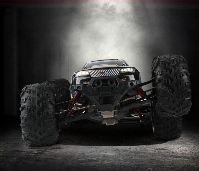 50 km/h de Control remoto coche 2,4g 1/10 de alta velocidad camión fuera de carretera de cuatro ruedas monstruo modelo de coche RC RTR del 10428 de 94166