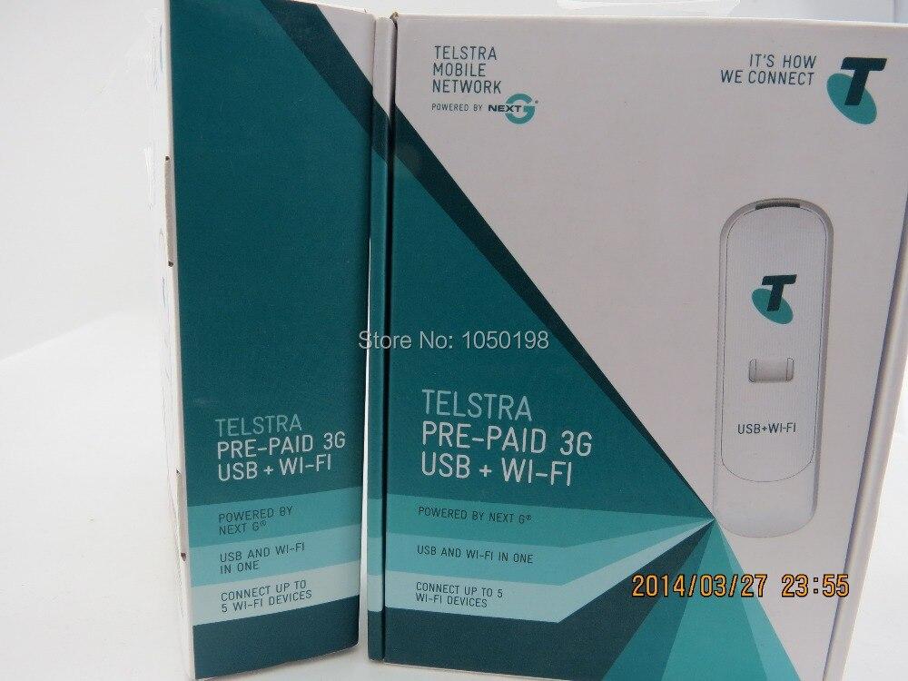 Telstra ZTE MF70A Pre Paid 3G Modem USB+Wifi up to 5 ...