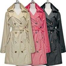 Knee Long cloak Raincoat Women With Belt,Waterproof Rain Coat Ponchos Jackets Female Chubasqueros Impermeables capa de chuva