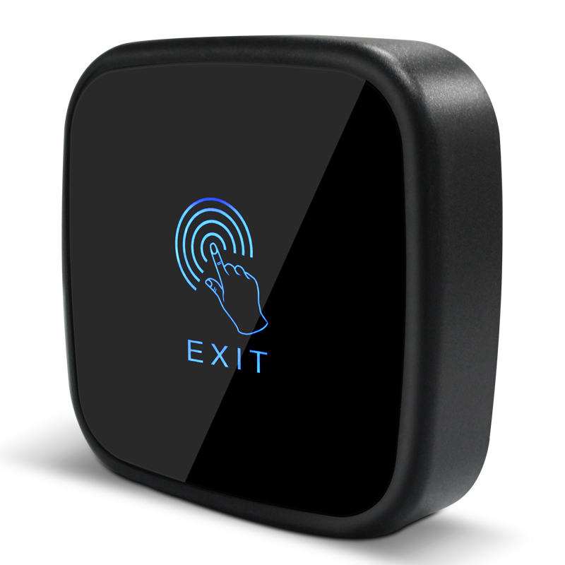 New Touch Sensor Exit Button Switch NC NO COM For Door Access Control Wall Mount Exit Buttonl, min:5pcs exit wound