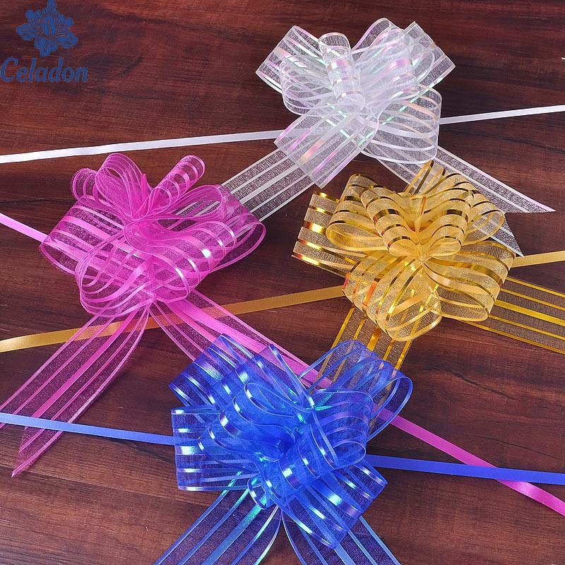 High Quality DIY Yarn Pull Bow 11 Color Can Choose For ...
