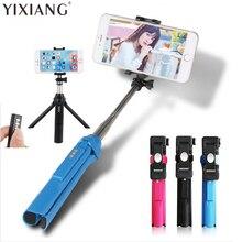 Yixiang NI5L Bluetooth палка для селфи Выдвижная монопод Штатив для iPhone 6 S 6 Plus Samsung S6 для смартфонов IOS и Android лидер продаж