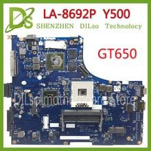 KEFU LA-8692P motherboard For Lenovo Y500 LA-8692P Laptop Motherboard/mainboard Y500 motherboard GT650 Test motherboard цена 2017