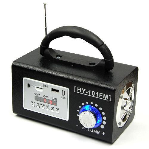 NOVO Mini Portátil Baixo Estéreo Rádio FM Remot casa ao ar livre Speaker MP3 Music Player Cartão TF USB Speaker Portátil