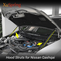 Car Bonnet Hood Strut Bars Support Buffer Lifting Hydraulic Rod No Driling/Welding For Nissan QASHQAI J11 Rogue Sport 2013 2019