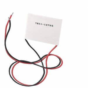 Image 1 - MCIGICM 60 قطعة TEC1 12705 بلتييه مبرد حراري كهربائي 12705 12V 5A خلايا ، TEC12705 بلتيير Elemente وحدة