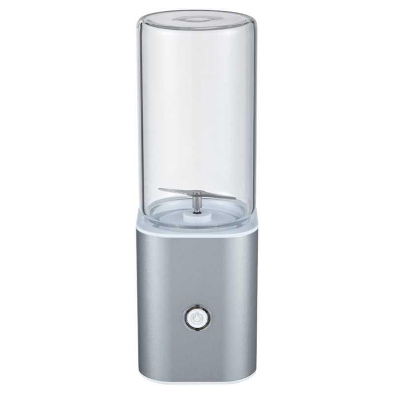 Portátil Juicer Blender, Personal Travel Usb Misturador Copo De Suco Com Atualizado 2 Lâminas E Motor Mais Potente