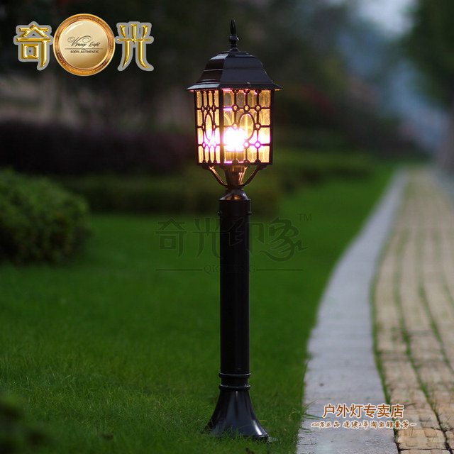 europe style classical led lawn lamp garden lights waterproof lamp