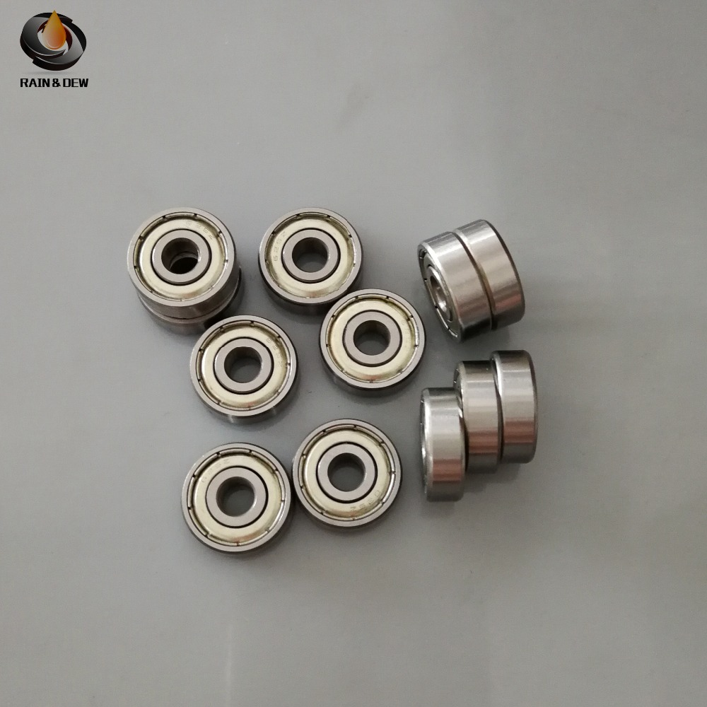 10pcs/lot 3D printer parts Miniature ball bearing <font><b>625ZZ</b></font> 5*16*5 mm for CNC Openbuilds Plastic Wheel image