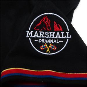 Image 3 - Fredd מרשל 2019 חדש דגל רקמת חולצת פולו גברים 100% כותנה קצר שרוול עסקי מזדמן מוצק צבע מותג פולו חולצה 039