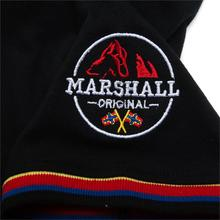 Fredd Marshall 2019 New Flag Embroidery Polo Shirt Men 100% Cotton Short Sleeve Business Casual Solid Color Brand Polo Shirt 039