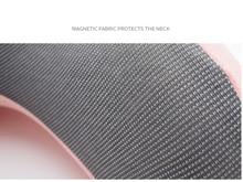 U-Shape Magnetic Headrest 30x28cm Neck Pillow Memory Foam Filler With Eyemask Earplug Travel Office Car Embrace Cervical Pillow