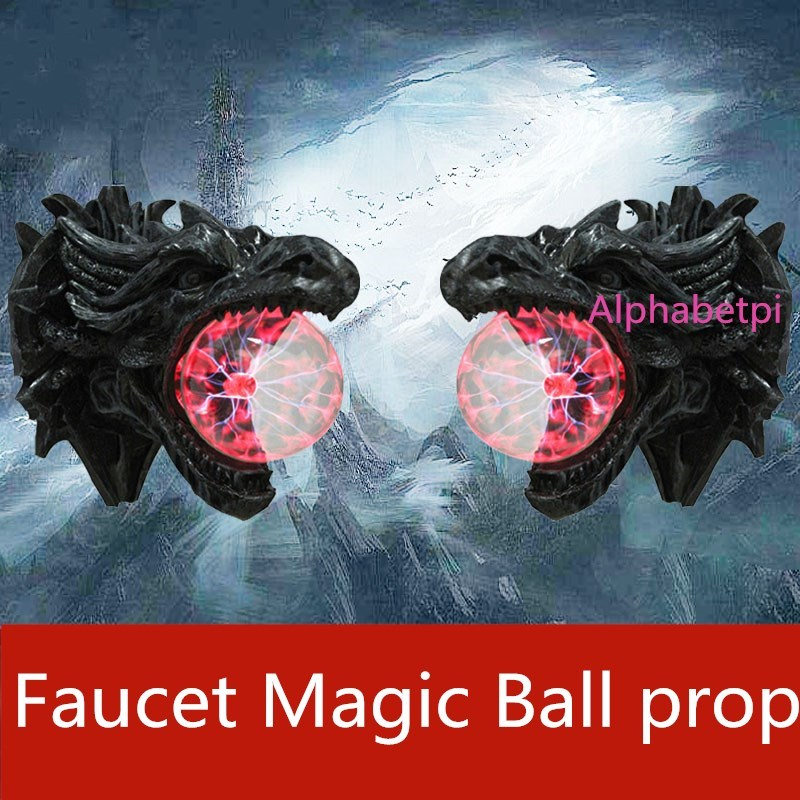 Escape from the secret room escape game prop touch Faucet Magic ball Ionic ball Static electricity ball takagism game(China)