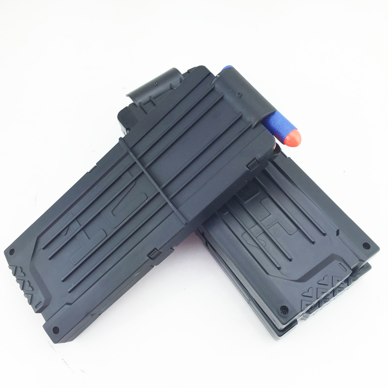 Rubber Soft Bullet Clip For Gun Toy Hold 12 Soft Bullets Cartridge Dart Magazine Clips Compatible
