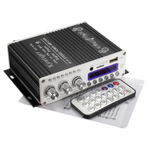 Car Audio Amplifier Digital Mini Bluetooth HiFi Stereo AMP MP3 Player For Car