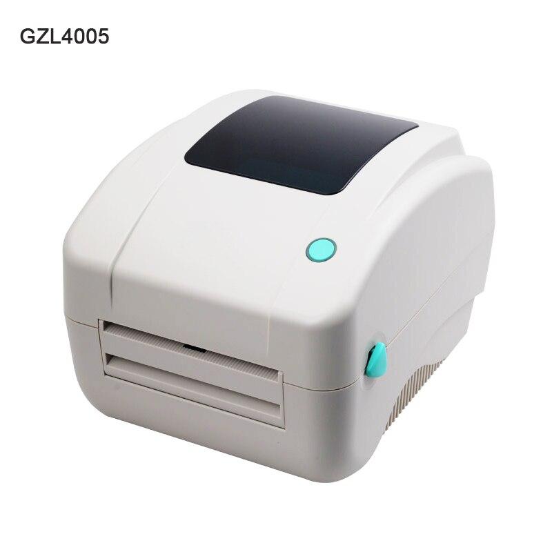 GZL4005 Thermal label printer Shipping address printer E-waybill printer for Express logistics supermarke Free Barcode Software цена и фото