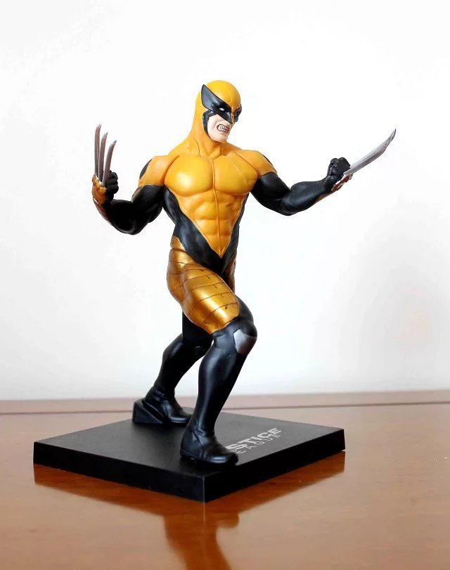 X Men Wolverine ArtFX + 1/10 Scale Pre Painted Model Kit Marvel Figurine PVC Action Figure Resin Collection Model Toy Gifts Doll
