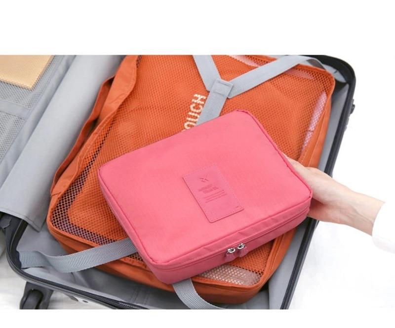HTB1Aki3l4HI8KJjy1zbq6yxdpXaK - Fashion Travel Nylon beauty makeup bags water-proof cosmetics bags