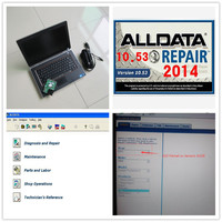 All data 10.53 auto data repair software with Mitchell on demend 2015 software in 1TB HDD installed for dell E6420 i5,2g Laptop