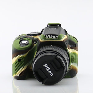 Image 4 - لينة سيليكون DSLR كاميرا حالة غطاء حقيبة لنيكون Z7 Z6 D780 D750 D850 D3300 D3400 D3500 D5300 D5500 D5600 D7100 D7200 D7500