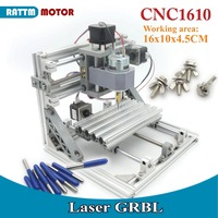 EU Delivery 1610 GRBL Control Laser Mini CNC Machine Working Area 160x100x45mm 3 Axis Pcb Milling