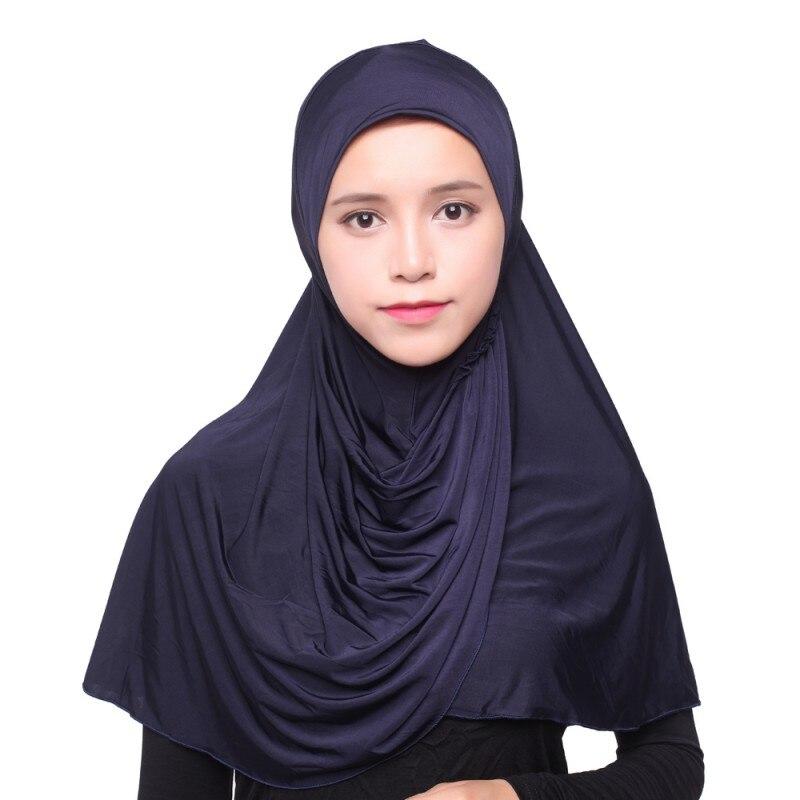 As Mulheres muçulmanas Hijab Sob Cap Chapéu Cachecol Gorro Ninja Underscarf Pescoço  Islâmico Cobertura Completa em Vestuário islâmico de Novidade   Uso ... e7d934642f8