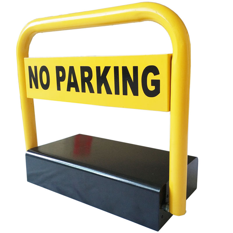 Outdoor Used Water Proof Remote Control Battery Powered Automatic Parking Barrier Parking Lock Parking Space Saver