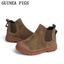 Spring and Autumn Winter Anti Skidding Children Fashion Shoes Rubber Boots Leather Boots Boys Girls Sports