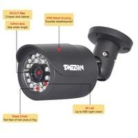 TMEZON CVI 1 3 Sensor 2 0MP Mega Pixels Bullet Camera 24 Leds CCTV Camera