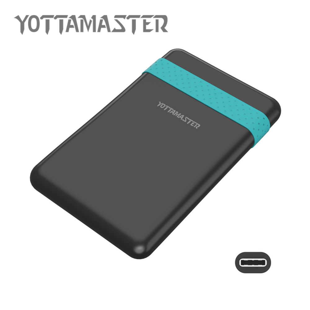 YOTTAMASTER Sata3 0 to USB3 1 External HDD Enclosure Case for Notebook Desktop PC HDD font