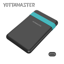 YOTTAMASTER Sata3.0 to USB3.1 External HDD Enclosure Case for Notebook Desktop PC HDD Harddisk Box Tool Free 2.5 Inch (H2510C3)