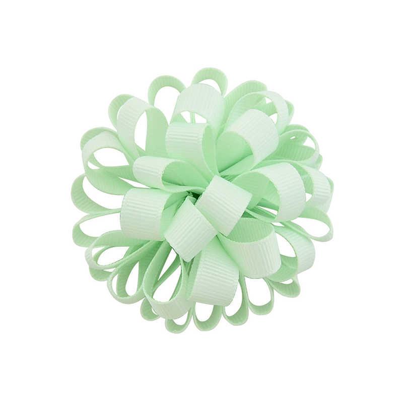 Girls Hair Accessories Three-dimensional Charming Hair Rope Big Rose Korean 1PC Hair Ties Elastic Hair Bands Multi-layer