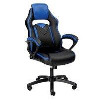 Офисное кресло, гоночный Офисный Компьютерный игровой стул Эргономичная спинка и регулировка высоты сиденья