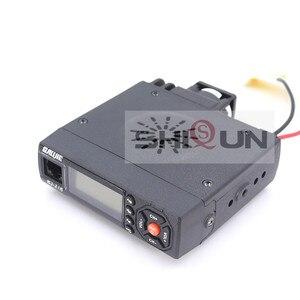 Image 2 - 25W Mobile Car Walkie Talkie BJ 218 with Antenna SG M507 Z218 UHF VHF Dual Band Mini Car Radio 10 KM Baojie BJ 218 Long Range